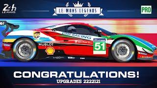 Real Racing 3 Le Mans Legends Stage 7 Upgrades 2222121 - 40 Gold Ferrari 488 GTE RR3