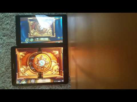 $90 amazon fire hd8 vs $600 samsung tab s3 Hearthstone comparison