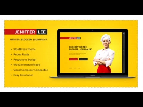 Food Magazine & Cookery Writer's Blog   Themeforest Download