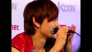 121013 NU'EST SIGNING @ KCON - MinHyun