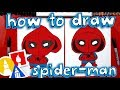 How To Draw Spider-Man Homecoming