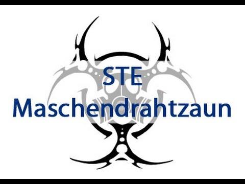 STE - Maschendrahtzaun - YouTube
