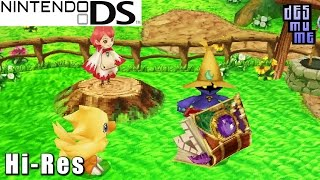 Final Fantasy Fables: Chocobo Tales - Nintendo DS Gameplay High Resolution (DeSmuME)
