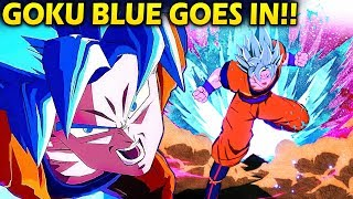 BLASTED BY GOKU BLUE!! - Dragon Ball FighterZ - Ranked Matches! (Vegito, Android 21, Goku)