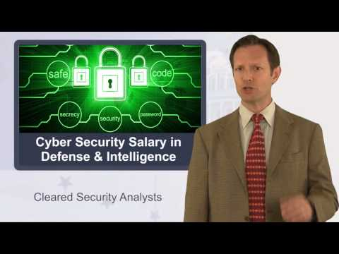 Cyber Security Compensation for Cleared Professionals