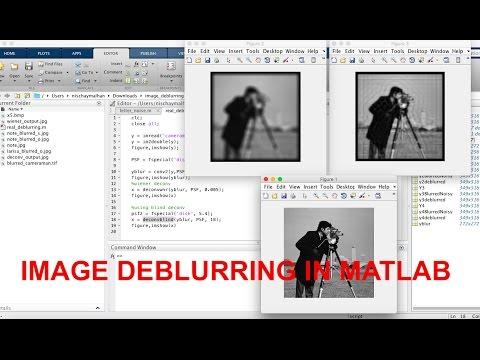 Image Deblurring | Matlab Code