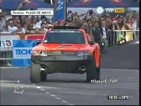 ¡Sin su salto no hay Dakar!