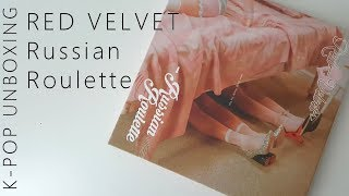 Baixar Red Velvet Russian Roulette (+Photocard Reveal) | Unboxing
