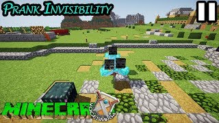 Voce SMP S4   Prank Invisibility #11   Minecraft Survival Multiplayer