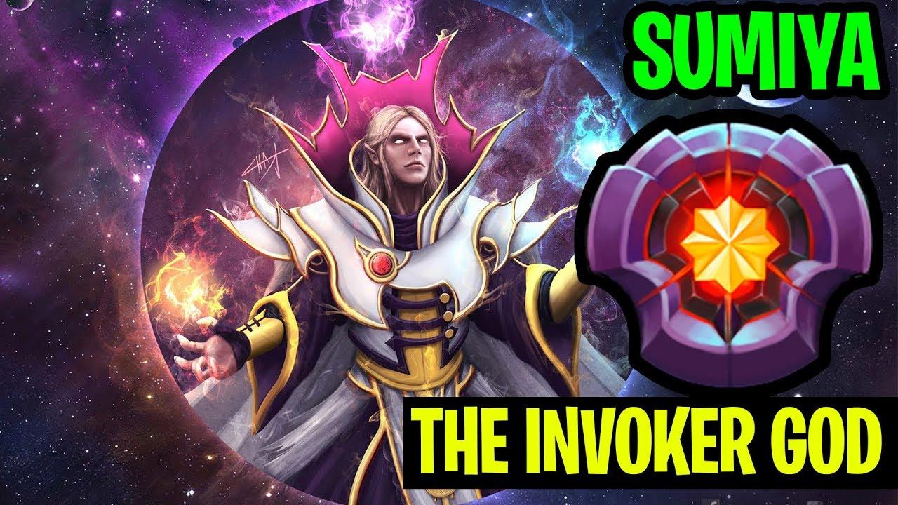 The Invoker God Gameplay Sumiya Dota
