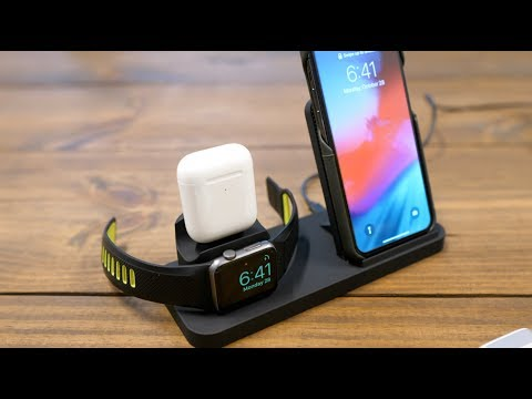 You need this $40 3-in-1 Wireless Charging Station if you own an iPhone, Apple Watch & AirPods!