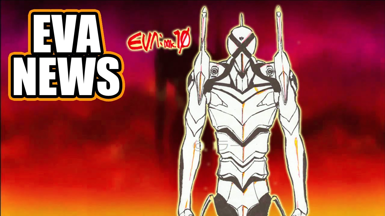 EVA Mark.10 Revelado, Shinji Vende al EVA-01 || EVA NEWS 48