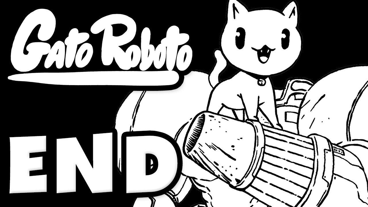 Gato Roboto - Gameplay Walkthrough Part 4 - ENDING! (Nintendo Switch)