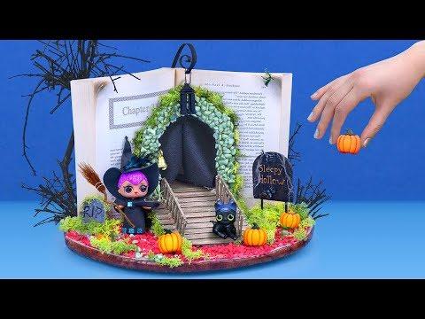 Tự Làm Trang Phục Halloween Búp Bê