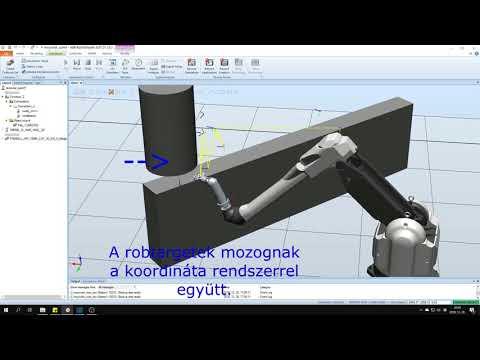 Ipari robotok szimulációja 5.