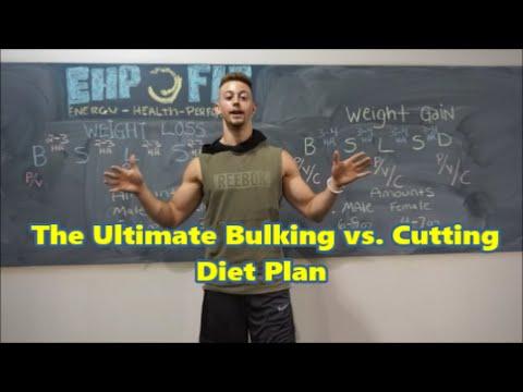 NUTRITION | DIET PLANS FOR CUTTING vs BULKING