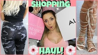 Shopping Haul - Shoes, Makeup, Leggings & MORE!