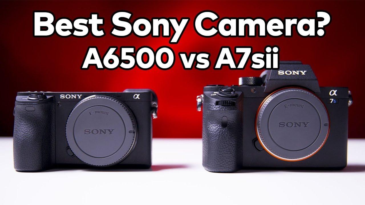 Sony A6500 vs A7S II Side-by-Side Comparison | 4K Shooters