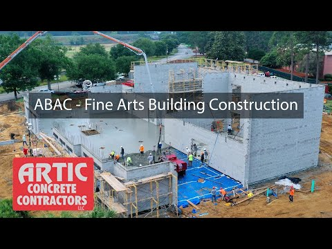 Artic Concrete Contractors | ABAC - Fine Arts Construction | Abraham Baldwin Agricultural College