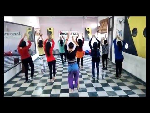 Dil cheez tujhe dedi belly dance by Rockstar Academy Chandigarh