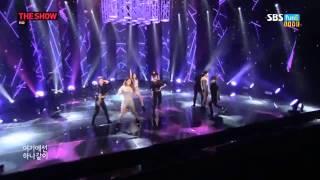140902 KARA - Mamma Mia @ SBS The Show - Live HD 720p