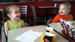 Dancing at Krystal Burger