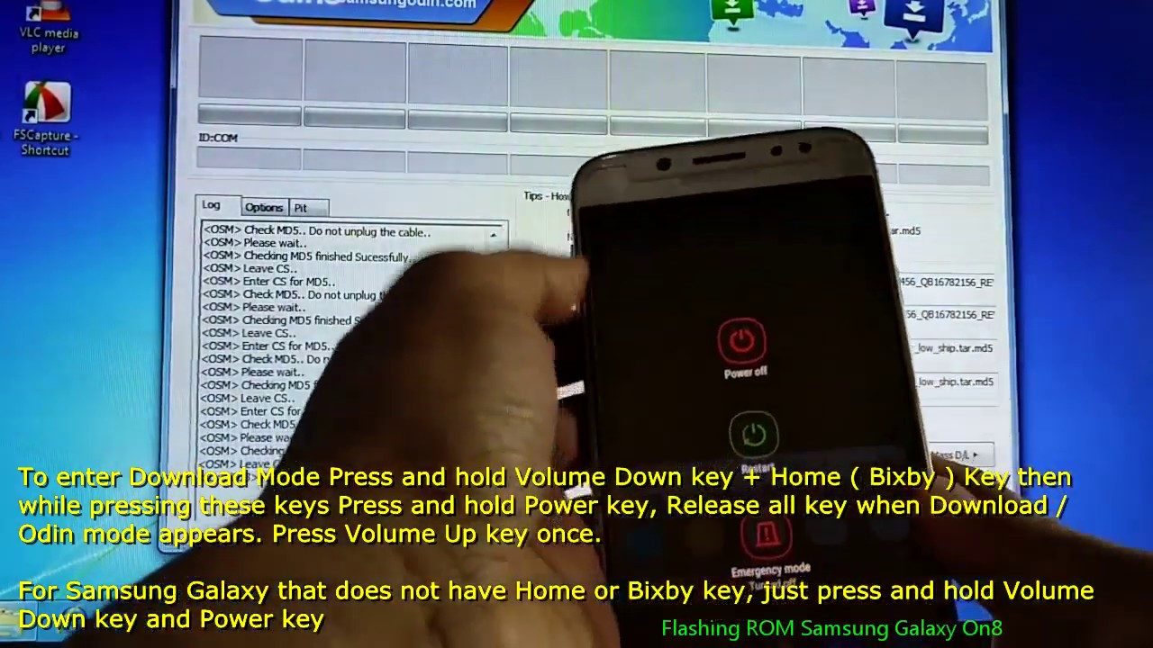 Samsung Galaxy On8 Custom ROM Videos - Waoweo