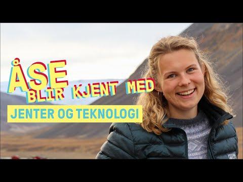 Åse blir kjent med Jenter og Teknologi