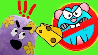 Мультик Игра для Детей Крысиное Вторжение FineBabyTV