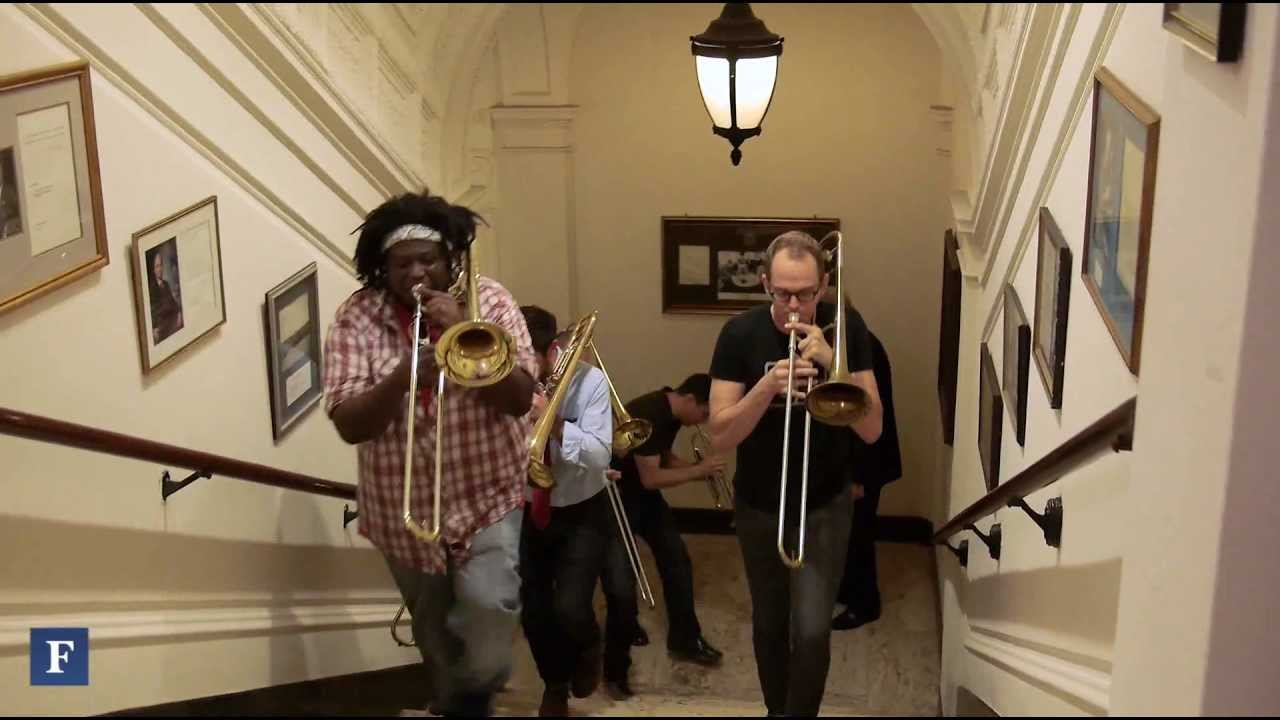 No BS! Brass Band Crashes Forbes