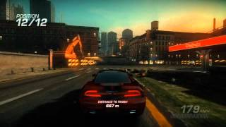 Ridge Racer Unbounded: Part 1 (Walkthrough/Gameplay) - Introduction/First Two Races (Xbox 360/PS3)