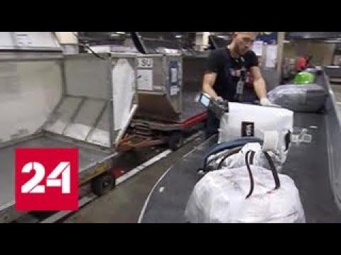 Руководство Шереметьева назвало среднюю зарплату работников, занимающихся обработкой багажа - Росс…