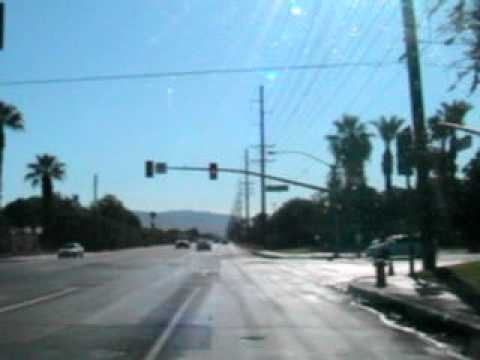 Avenue 48 from Jefferson to Monroe in Indio California Sept 1, 2011 at 9:30am