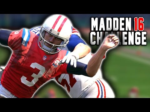 Stephen Gostkowski QB SACK!? - Punters and Kickers QB Sack Competition! Madden 16 NFL Challenge
