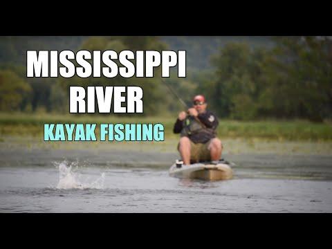 Kayak Fishing Mississippi River Backwaters | Part 1 - FROG FISHING | La Crosse, Wisconsin