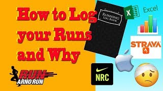 how to log your runs and why