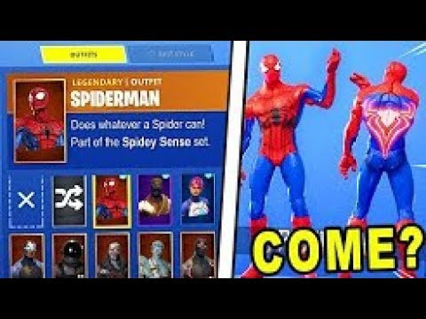 FORTNITE *NEW* SPIDERMAN SKIN HACK! (Battle Royale Custom ...