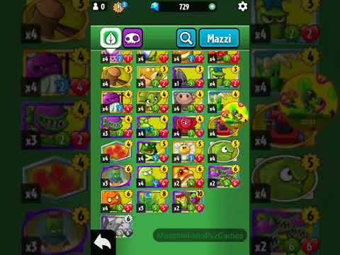 Plants vs zombies Heroes my colletion almost all cards