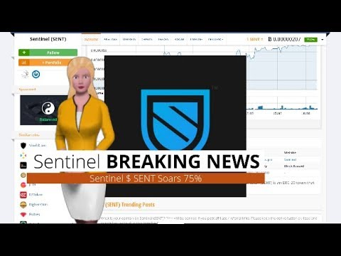 Cryptocurrency Sentinel $SENT Appreciated 75% In the Past Day