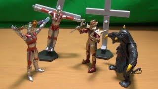 こいつは凄い!SHODO(掌動)ウルトラマンVS2 決戦!ウルトラ兄弟 全5種