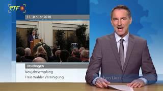 Neujahrsempfang der Freien Wähler Vereinigung Reutlingen