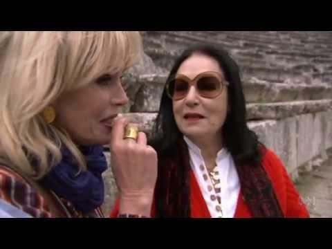 Nana Mouskouri sings Ave Maria  Joanna Lumley's Greek Odyssey  Tuesdays, 8.30pm, ABC1