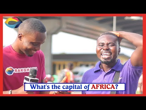 What is the capital of AFRICA? | Street Quiz | Funny Videos | Funny African Videos