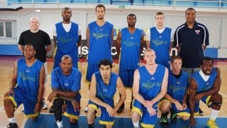 2012 Europe Summer League Game #7 - July 18, 2012 - PSM All-Stars (110) vs KK Eurobasket Zemun (86)