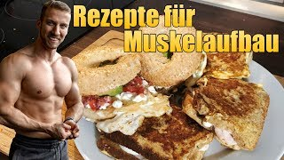IIFYM Fitnesseinkauf Food Haul + High Protein Rezepte für Muskelaufbau