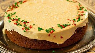 Vasilopita Spice New Year's Cake