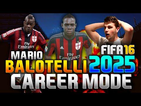 FIFA 16 | MARIO BALOTELLI IN 2025!!! (CAREER MODE)