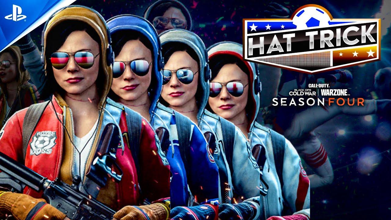 Hat Trick Operator Bundle Penalty Kick Finishing Move Season4 Black Ops Coldwar Warzone Youtube