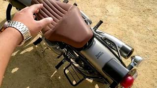 New Slim Seat for Royal Enfield - King Indian