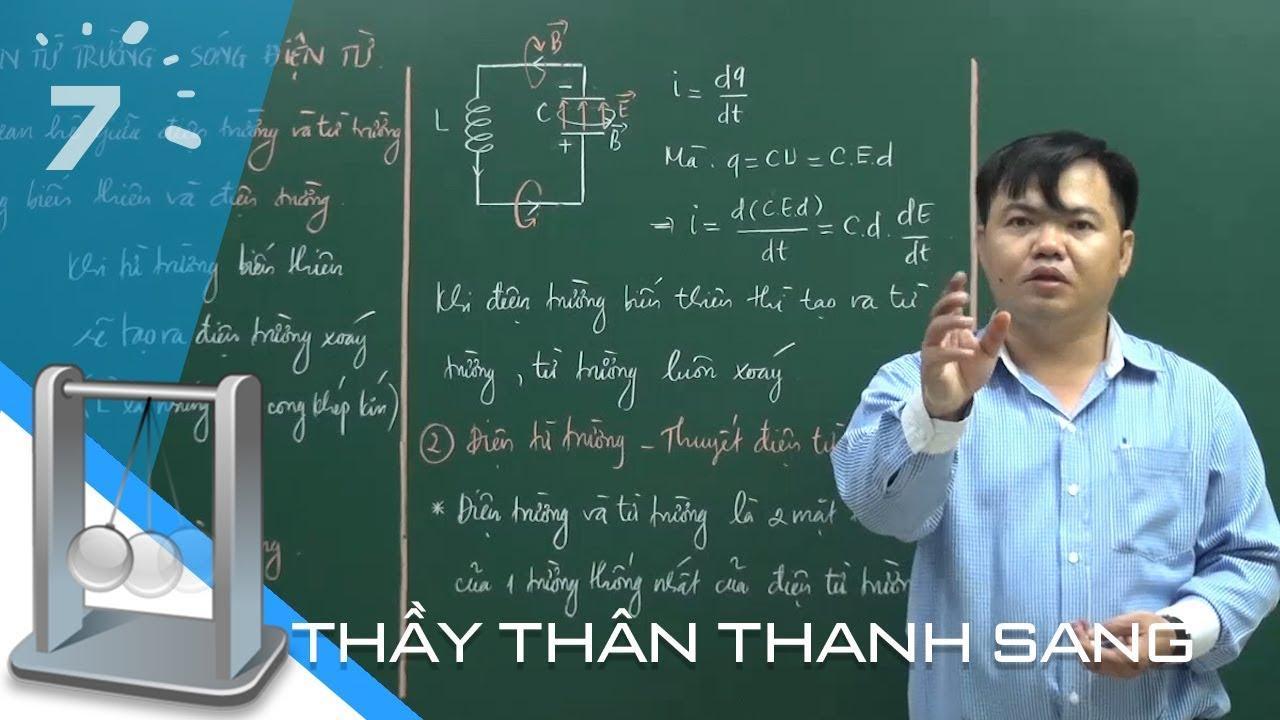 Vật lý 12 Bài 21+22: Điện từ trường – Sóng điện từ | HỌC247